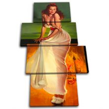 Vintage Girl Retro Pin-ups - 13-2063(00B)-MP04-PO